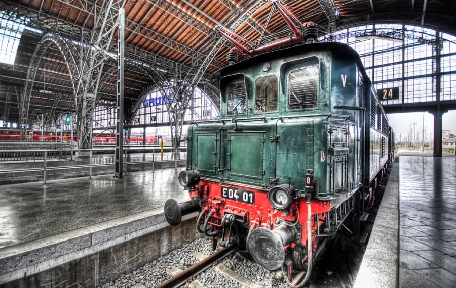 Leipzig Train Station