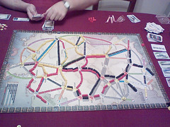 Game Night - Ticket To Ride