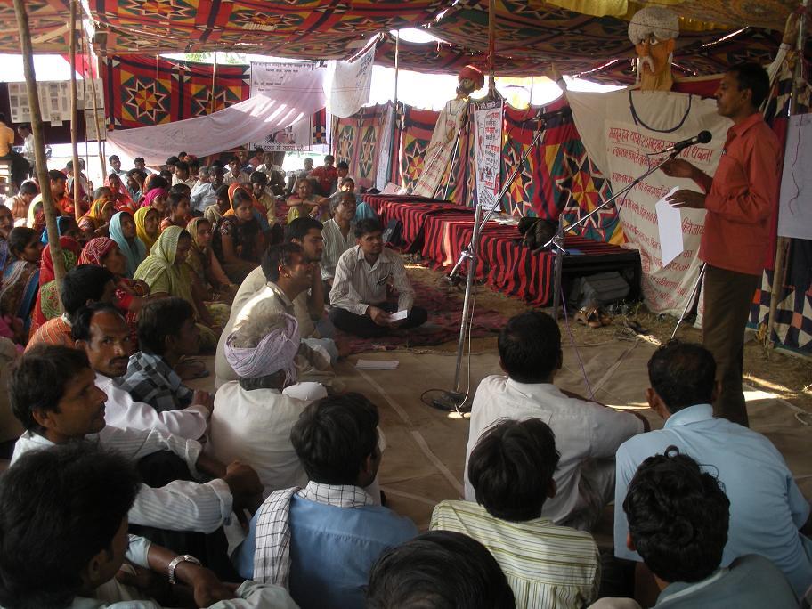 Pics from the satyagraha - 5, 6 & 7 Oct 2010 - 10