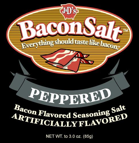 Bacon Salt - Peppered