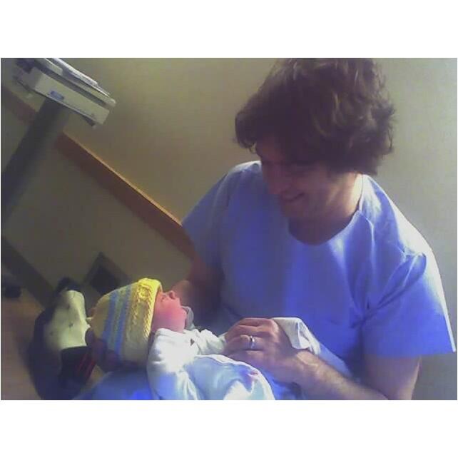 baby walter and papa kurt