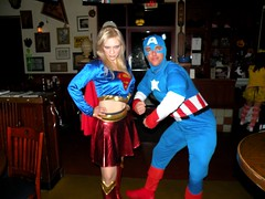 SuperGirl and Captain America - dscn0108