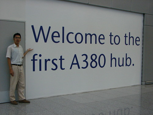 In  Frankfurt Airport