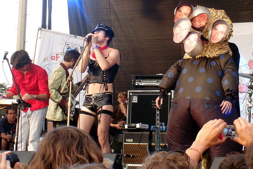 Of Montreal at Pitchfork, 2007 being all awesome.
