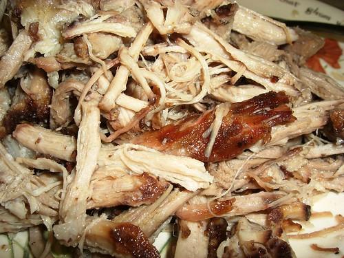 Rosated, Shredded Pork