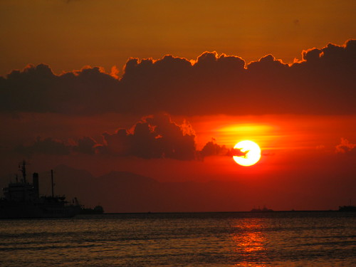 Sunset in Manila Bay 2