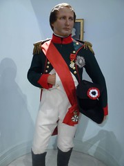 French Emperor Napoleon Bonaparte at Madame Tu...