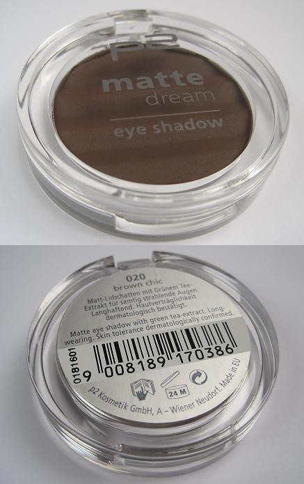 P2 Eyeshadow Brown Chic1