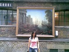 National Gallery street stunt
