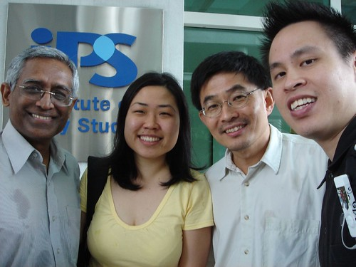 Meeting: Institute of Policy Studies