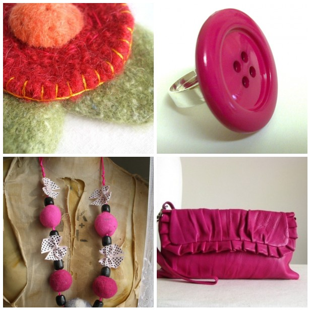 cerise pink kitchen accessories folksy friday cerise pink my place on earth 5211