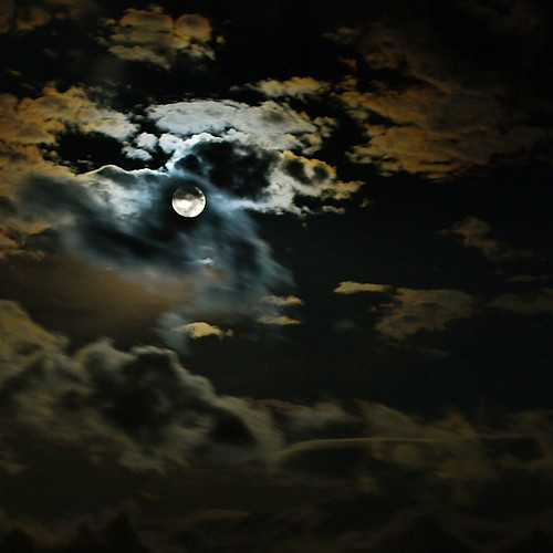 Covered Moon