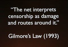 Gilmore's Law