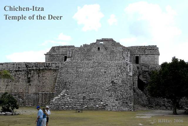 Chichen-Itza Temple of the Deer