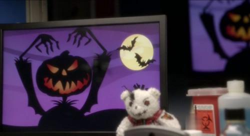 Halloween in Abby's lab