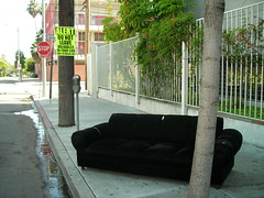 Post-nightclub couch