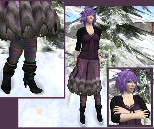 Purple warmth