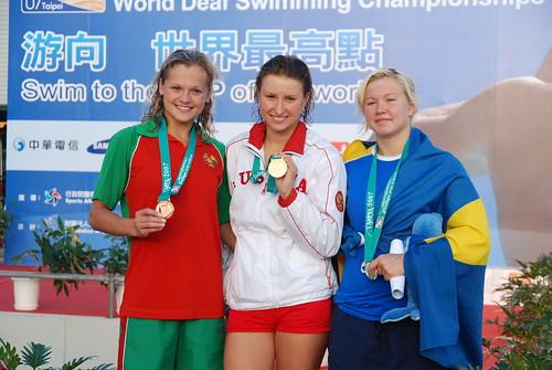2007聽障游泳錦標賽-女�組100公尺蝶式