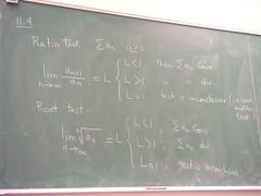 11.4 Ratio Test, Root Test