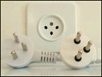 different sockets and plugs