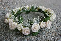 Floral coronet