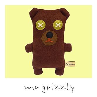 Mr Grizzly La Maison de Lola