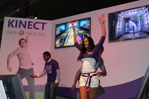 EGS 2010: Demostración de Kinect