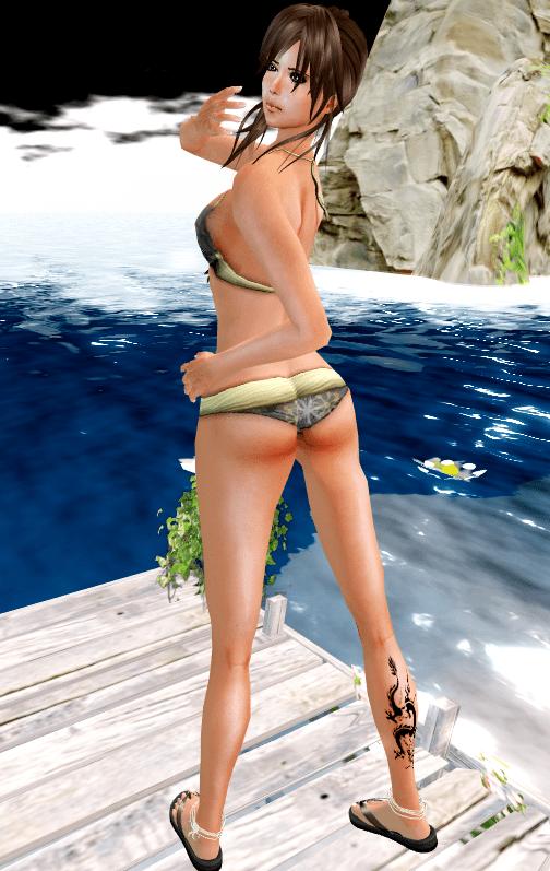 NEW! Action Womens Bloom Bikini - sting