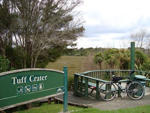 Tuff Crater Sign
