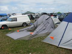 My tent - damaged !
