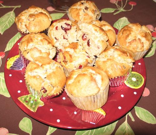 Cranberry-Lemon Muffins