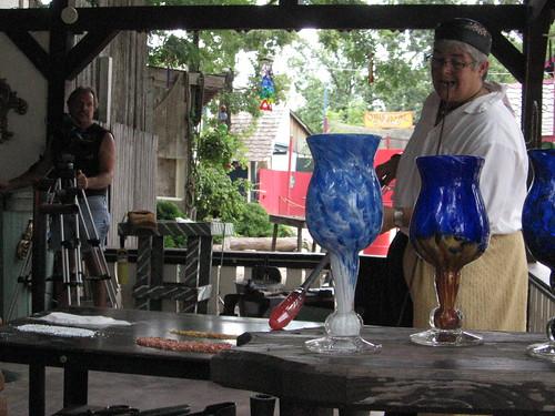 Filming Girl Glass