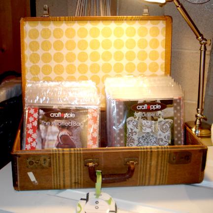 Suitcase Display