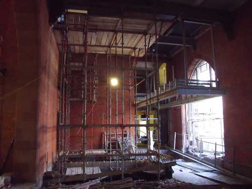 Building Progress: Where the New Lift Shaft Will Be
