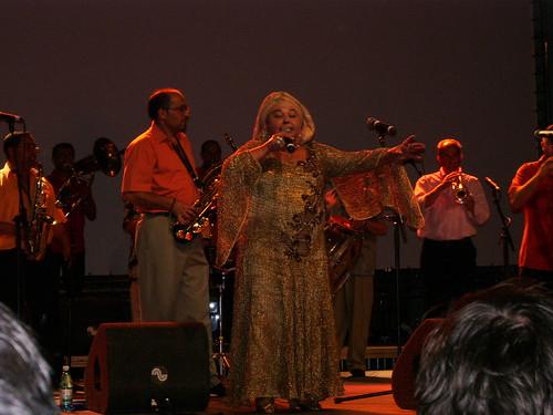 Fanfara Ciocarlia concert, Piata Mica, 6 June 07