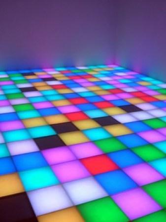Multi-Colored Disco Dance Floor