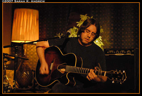 Jonathan Andrew performs an acoustic set at The Goldhawk