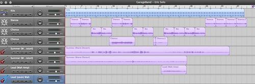 GarageBand - Home Again 2007 (Initial recording)
