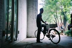北京,798工廠,騎腳踏車賣冰水的青年