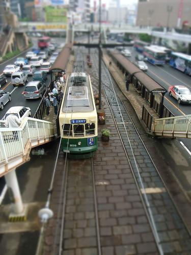 Fake miniature Nagasaki