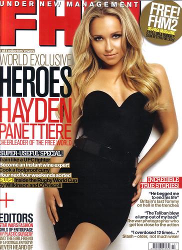 Hayden Panettiere FHM