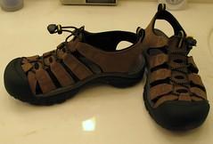 My New Keen Sandals