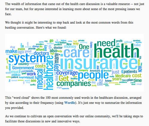 Obama Transition Team - Daschle Healthcare Reform