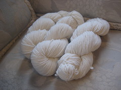3 Greenwood hill farm 2ply DK white