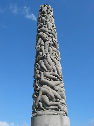 Vigeland's monolith