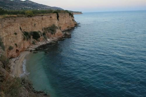 Hidden beach in Gargano, Puglia