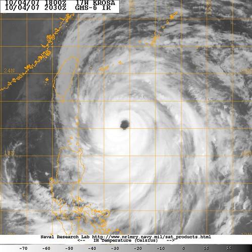 Typhoon Krosa