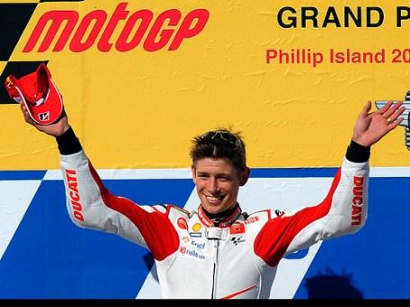 JG Motor - Podium MotoGP Philips Island 2010