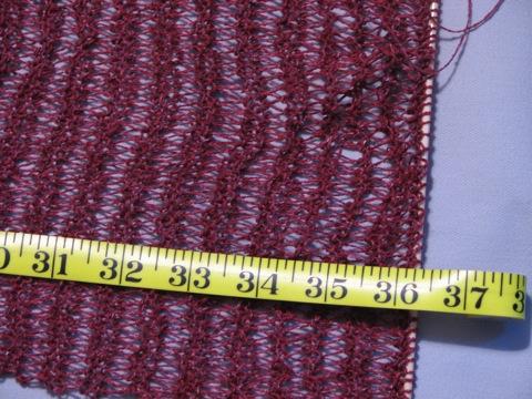 VLT scarf on 081407