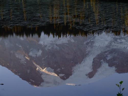 Reflected Volcano
